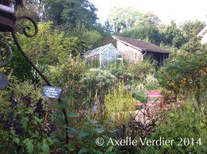 Jardin Clair Obscur - Parmain
